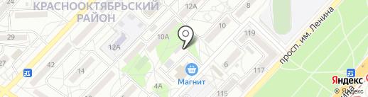 Альянс на карте Волгограда