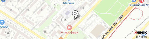 Сентябрь на карте Волгограда