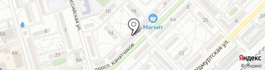 Магазин детского трикотажа российского производства на карте Волгограда