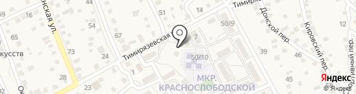 Дар на карте Краснослободска