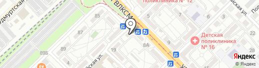 Дым Дымыч на карте Волгограда