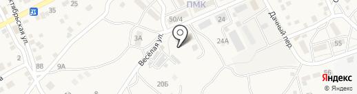 Пожарная часть №50 на карте Краснослободска