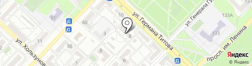 Экотехнология на карте Волгограда