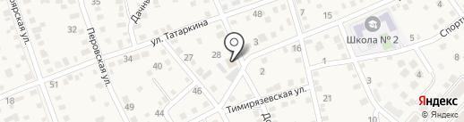Магазин хозяйственных и электротоваров на карте Краснослободска