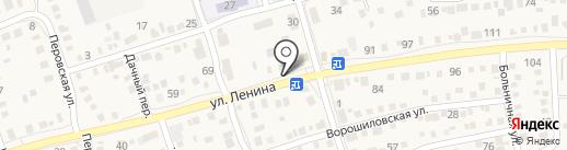Лайм на карте Краснослободска