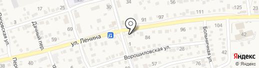Бристоль на карте Краснослободска