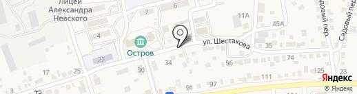 Ёлки-палки на карте Краснослободска