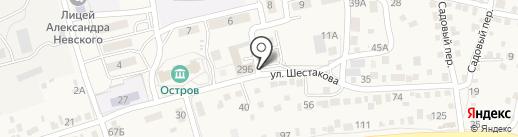 Универсальный магазин на карте Краснослободска