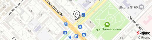 Ломбард Первый на карте Волгограда