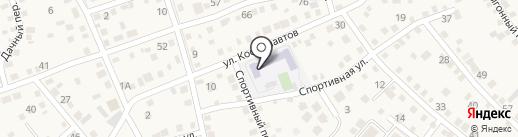 Краснослободская средняя общеобразовательная школа №2 на карте Краснослободска