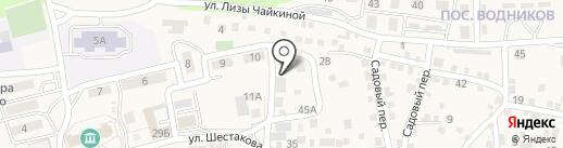 Магазин текстиля на карте Краснослободска