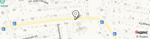 Продуктовый магазин на карте Краснослободска