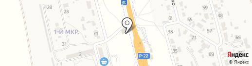 Магнит на карте Больших Чапурников