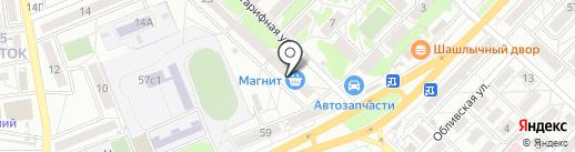 Qiwi на карте Волгограда