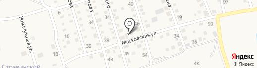 Парикмахерская на карте Краснослободска