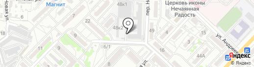 Коннект на карте Волгограда