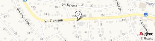 Стройхозтовары на карте Краснослободска