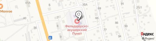 Золотой петушок на карте Больших Чапурников