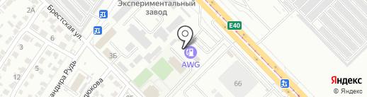 Автомойка на карте Волгограда