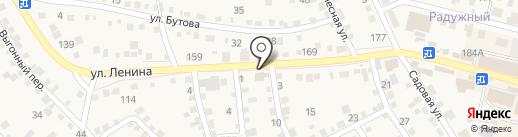 Магазин товаров для сада и огорода на карте Краснослободска