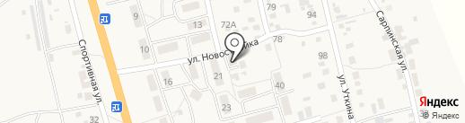 Супермаркет на карте Больших Чапурников