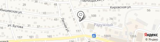 Магазин товаров для дома на карте Краснослободска