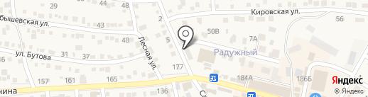 Волгоградэнергосбыт, ПАО на карте Краснослободска