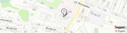 Котельная №849 на карте Волгограда