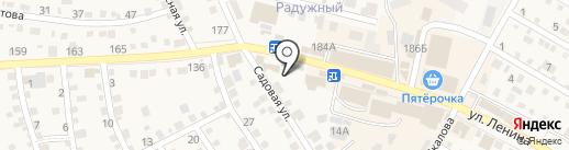 Евросеть на карте Краснослободска