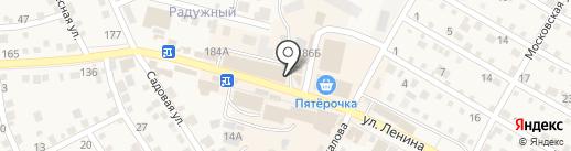 Магазин кондитерских изделий на карте Краснослободска