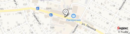 Электросеть на карте Краснослободска