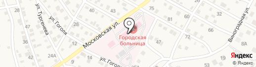 Краснослободская городская больница на карте Краснослободска