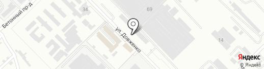 Рострубосталь на карте Волгограда