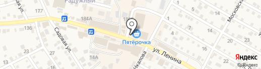 Рада на карте Краснослободска