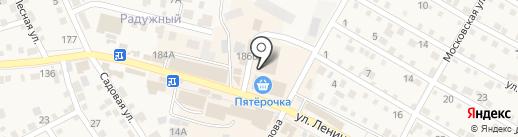 Аркадия на карте Краснослободска