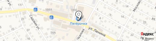Магазин колбасных изделий на карте Краснослободска