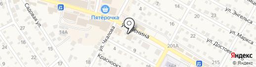 Магазин картин, люст и ковров на карте Краснослободска
