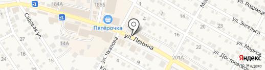 Поволжский банк Сбербанка России на карте Краснослободска