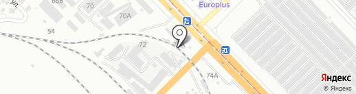 Паркмаркет на карте Волгограда