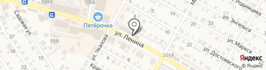 Лиза на карте Краснослободска