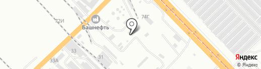 Заметно на карте Волгограда