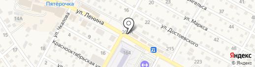 Магазин сантехники на карте Краснослободска