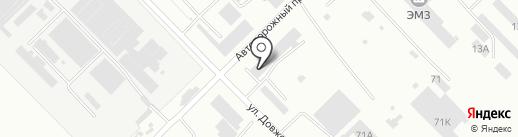 Возрождение-М на карте Волгограда