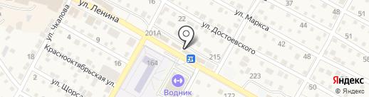 Дачный мир на карте Краснослободска