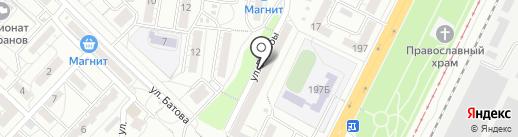 МСК на карте Волгограда
