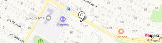 Автосервис на карте Краснослободска