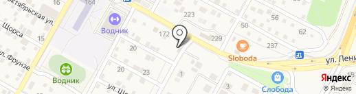 Аквасистемы на карте Краснослободска