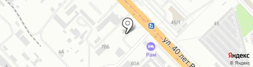 Арсенал-Пром на карте Волгограда