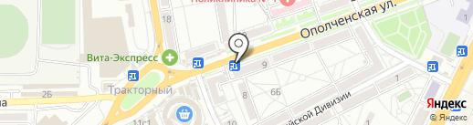 TELE2 на карте Волгограда