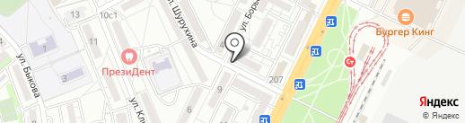 Ассорти на карте Волгограда
